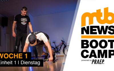mtb-news.de Bootcamp powered by Praep startet in erste Woche
